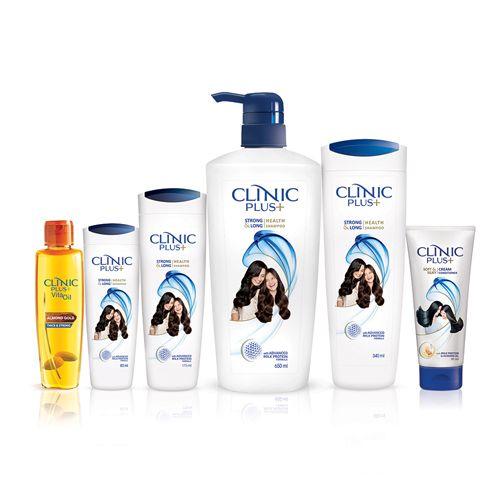 Clinic Plus Shampoo With Milk Protein 30 Ml