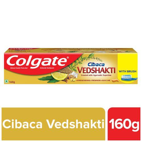 Colgate Cibaca Vedshakti Toothpaste With Toothbrush