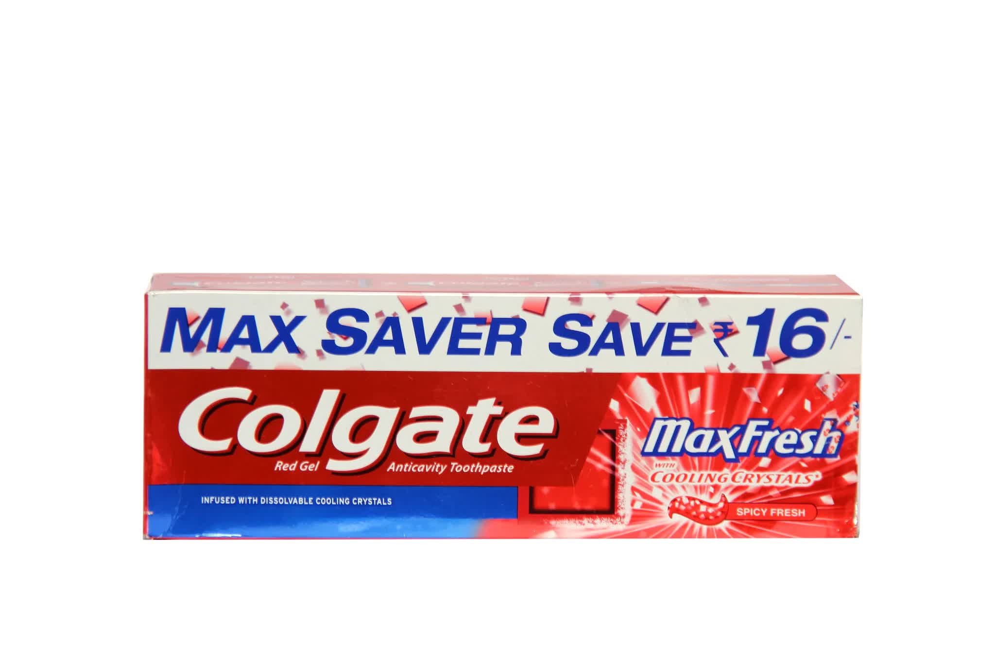 Colgate Maxfresh Spicy Fresh Toothpaste With Toothbrush