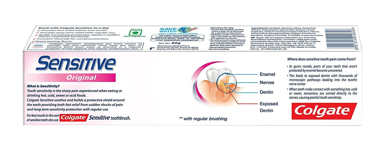 Colgate Sensitive Toothpaste 80 Gm