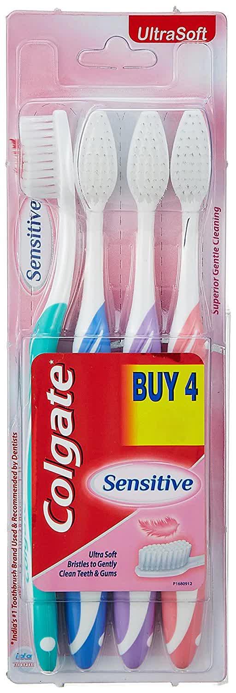 Colgate Ultrasoft Sensitive Toothbrush 4 Pc