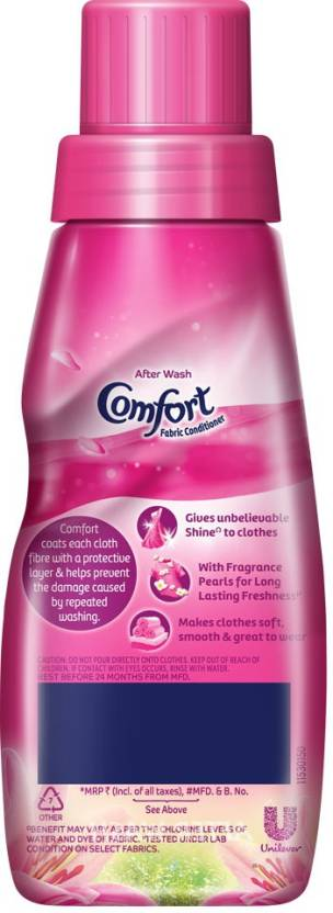 Comfort After Wash Lily Fresh Fabric Conditioner 220 Ml