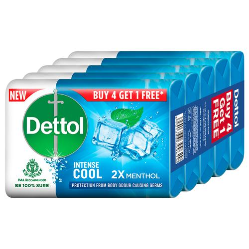 Dettol Cool Soap (Buy 4 Get 1 Free) 125 Gm