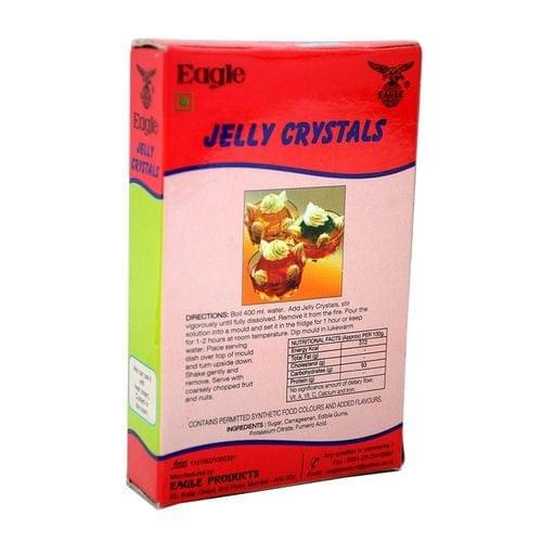 Eagle Jelly Crystals Strawberry (100% Veg) (Carton) 100 Gm