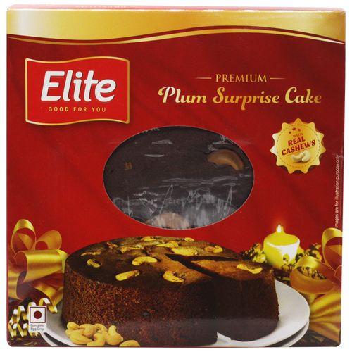 Elite Plum Surprise Cake (Box)