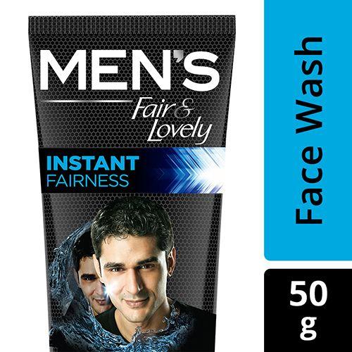 Fair & Lovely Face Wash Men Instant Fairness Rapid Action 50 Gm