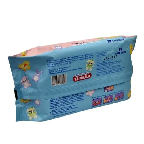 Freshones Purified Water Baby Wipes 80 Pc
