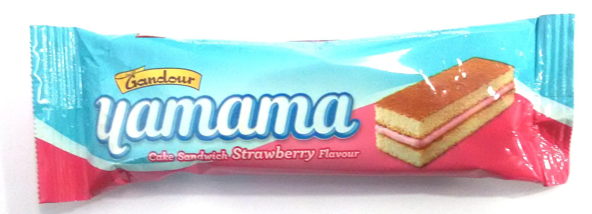 Gandour Yamama Strawberry Flavour Sandwich Cake