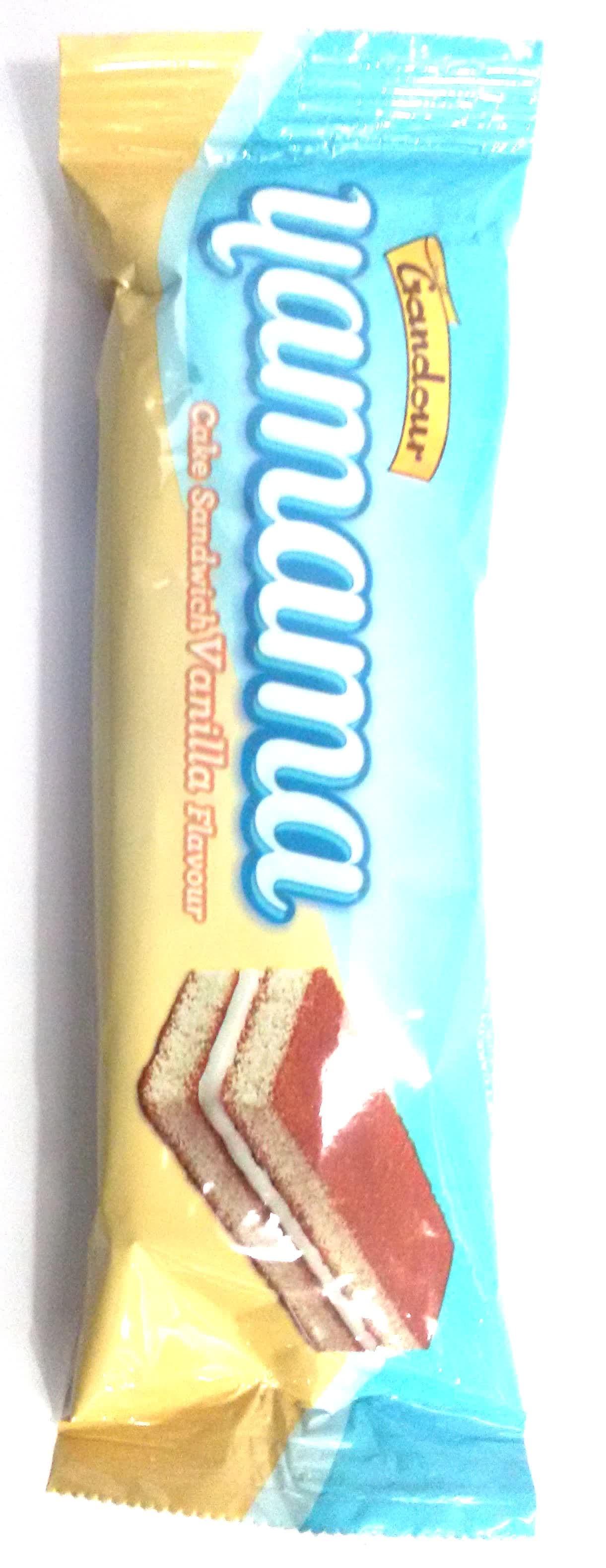 Gandour Yamama Vanilla Flavour Sandwich Cake
