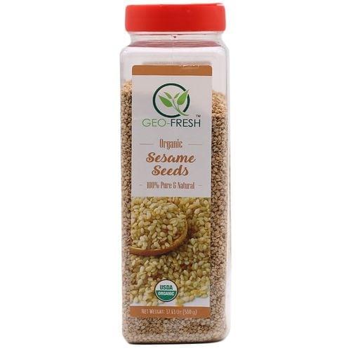 Geo Fresh Seasame Seeds Organic USDA Certified 500 Gm