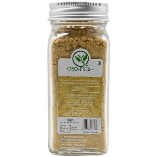 Geo-Fresh Organic Ginger Powder 45 Gm