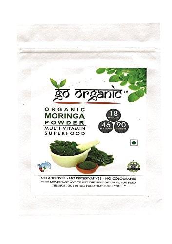 Go Organic Moringa Leaf Powder For Good Health 150 Gm
