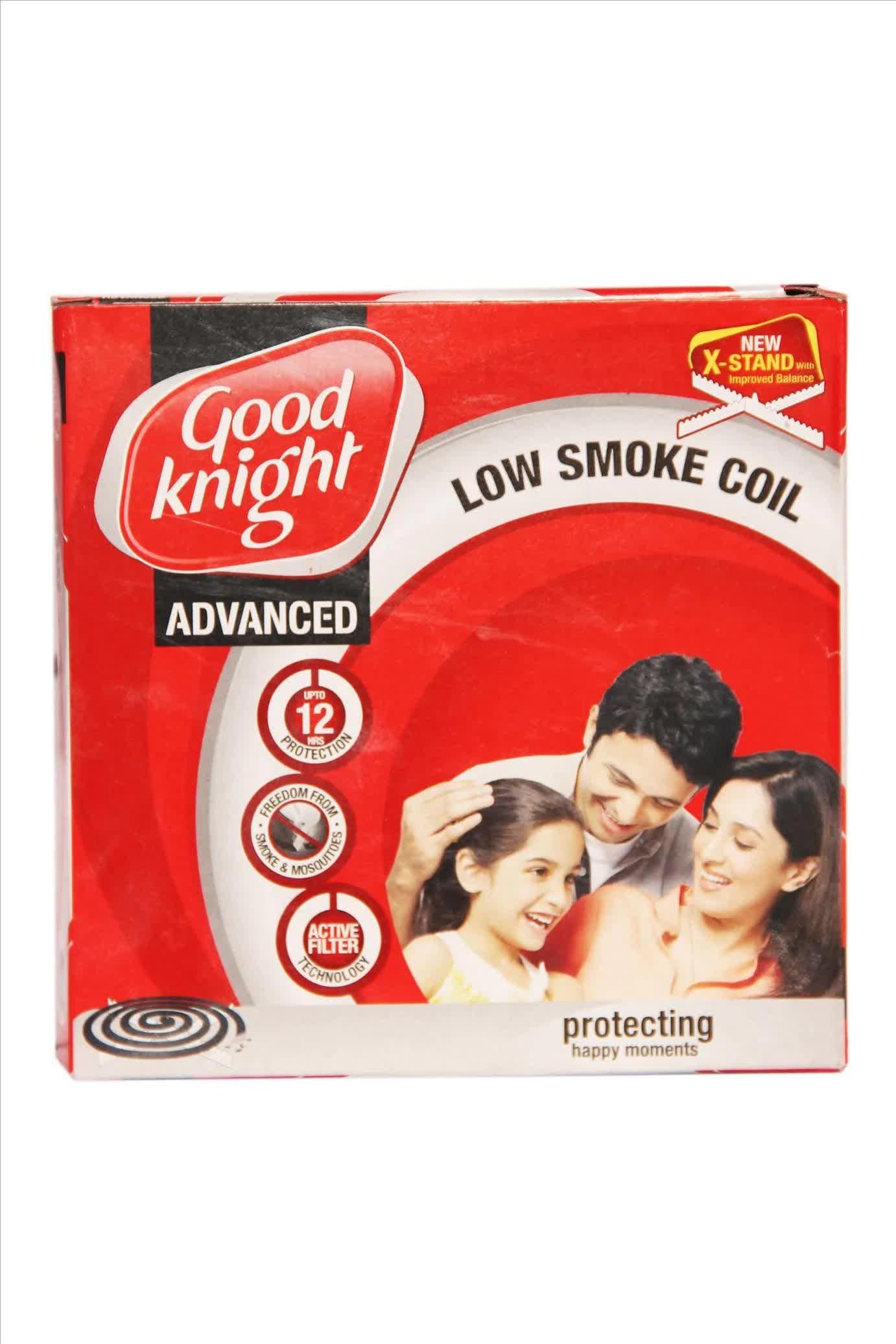 Good Knight Advance Low Smoke Coil 10 Pc