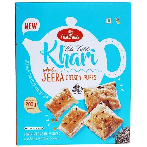 Haldirams Whole Jeera Crispy Puffs 200 Gm