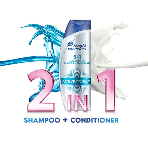 Head & Shoulders 2-in-1 Active Protect Shampoo 340 Ml