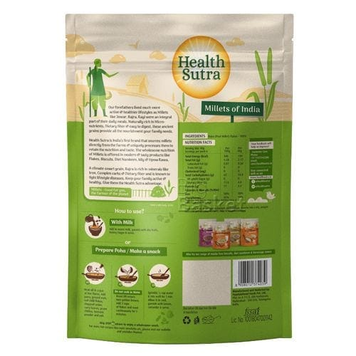 Health Sutra Bajra Flakes 250 Gm