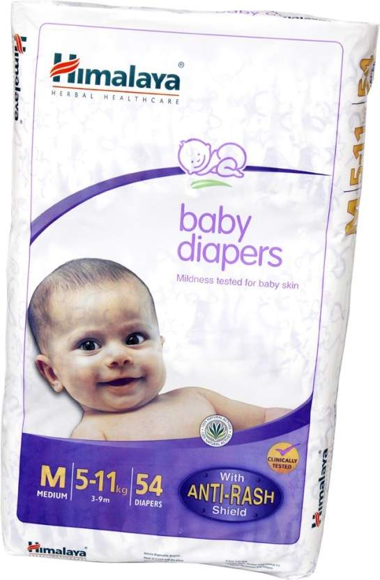 Himalaya Baby Diaper - M 2 Pc