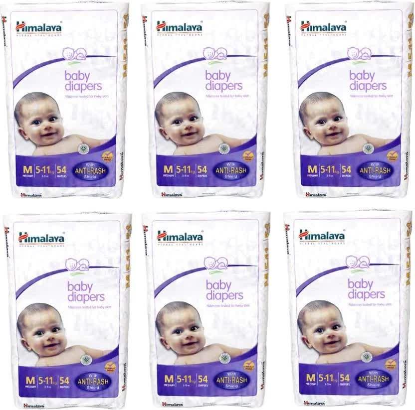Himalaya Baby Diaper - M 6 Pc