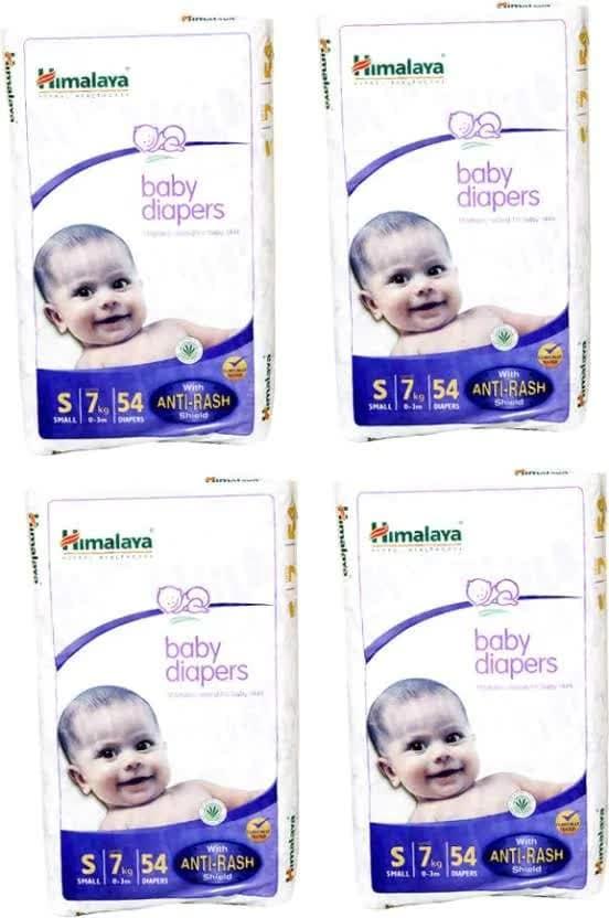 Himalaya Baby Diaper - S 4 Pc