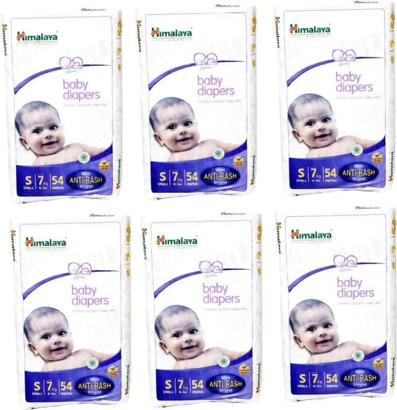 Himalaya Baby Diaper - S 6 Pc