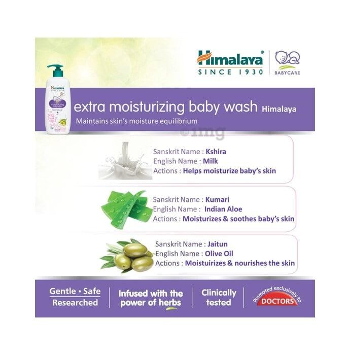 Himalaya Baby Wash Extra Moisturizing 100 Ml