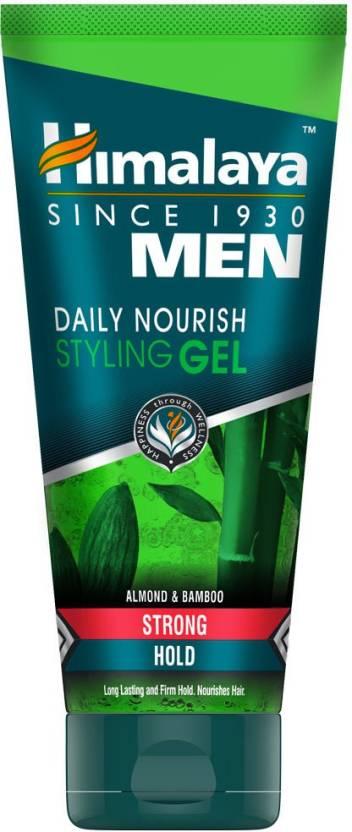 Himalaya Men Daily Nourish Styling Gel Strong Hair Styler 100 Ml