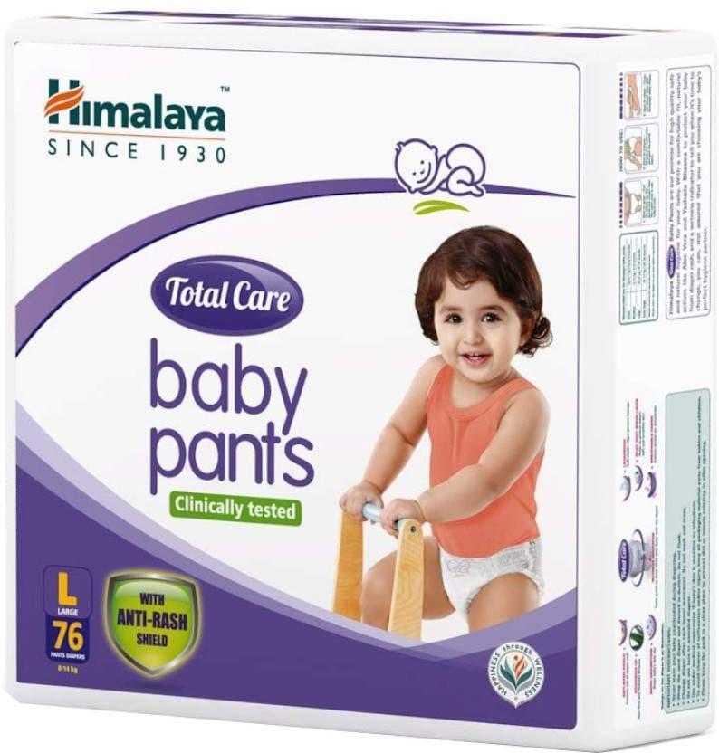 Himalaya Total Care - L Diaper 76 Pc