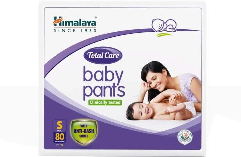 Himalaya Total Care - S Diaper 80 Pc