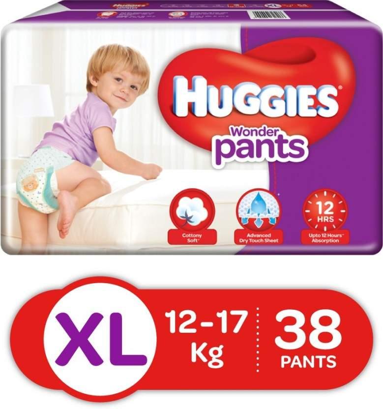Huggies Wonder Pants - Xl Diaper (38 Pc)