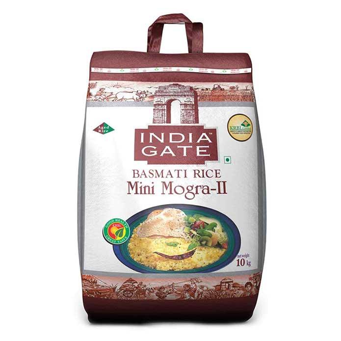 India Gate Mini Mogra-II Basmati Rice 10 Kg