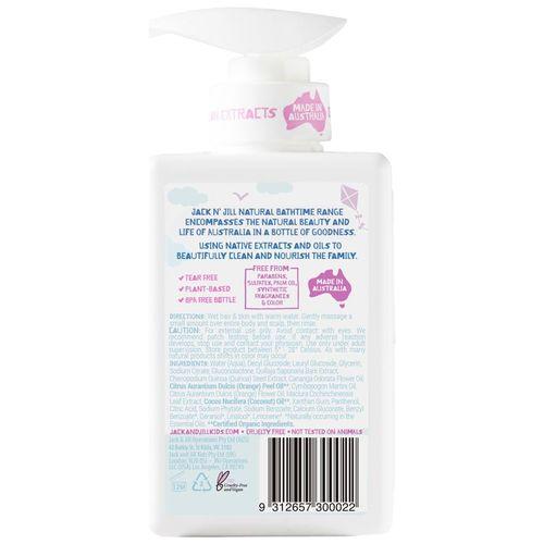 Jack N Jill Sweetness Shampoo & Body Wash Pump 300 Ml
