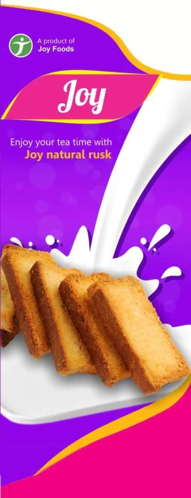 Joy Natural Rusk Tasty And Healthy Rich Rusk