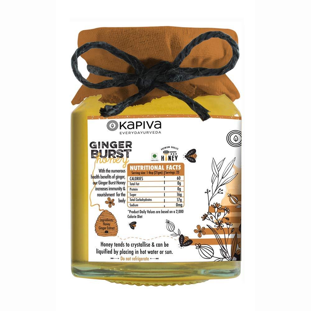 Kapiva Ginger Burst Honey 250 Gm