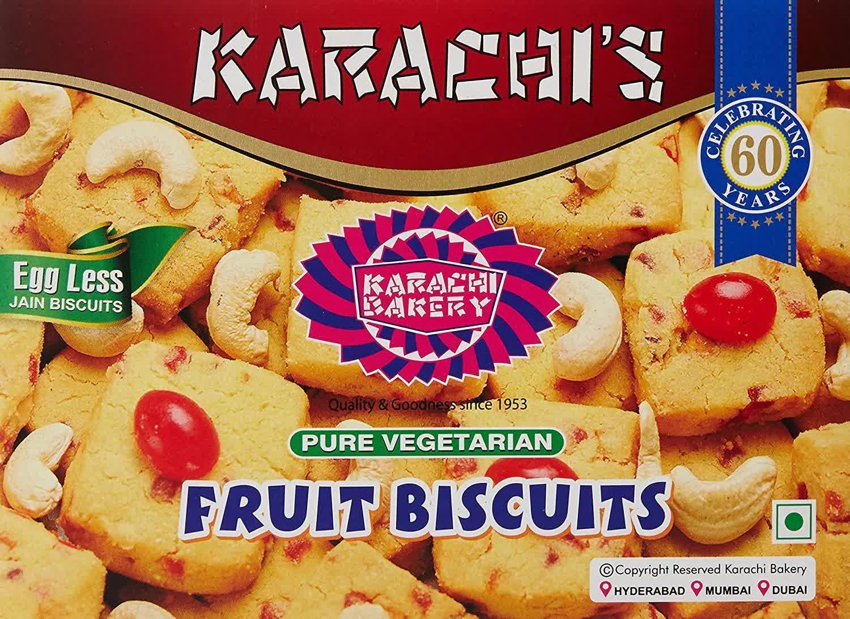Karachi's Bakery Fruit Biscuits