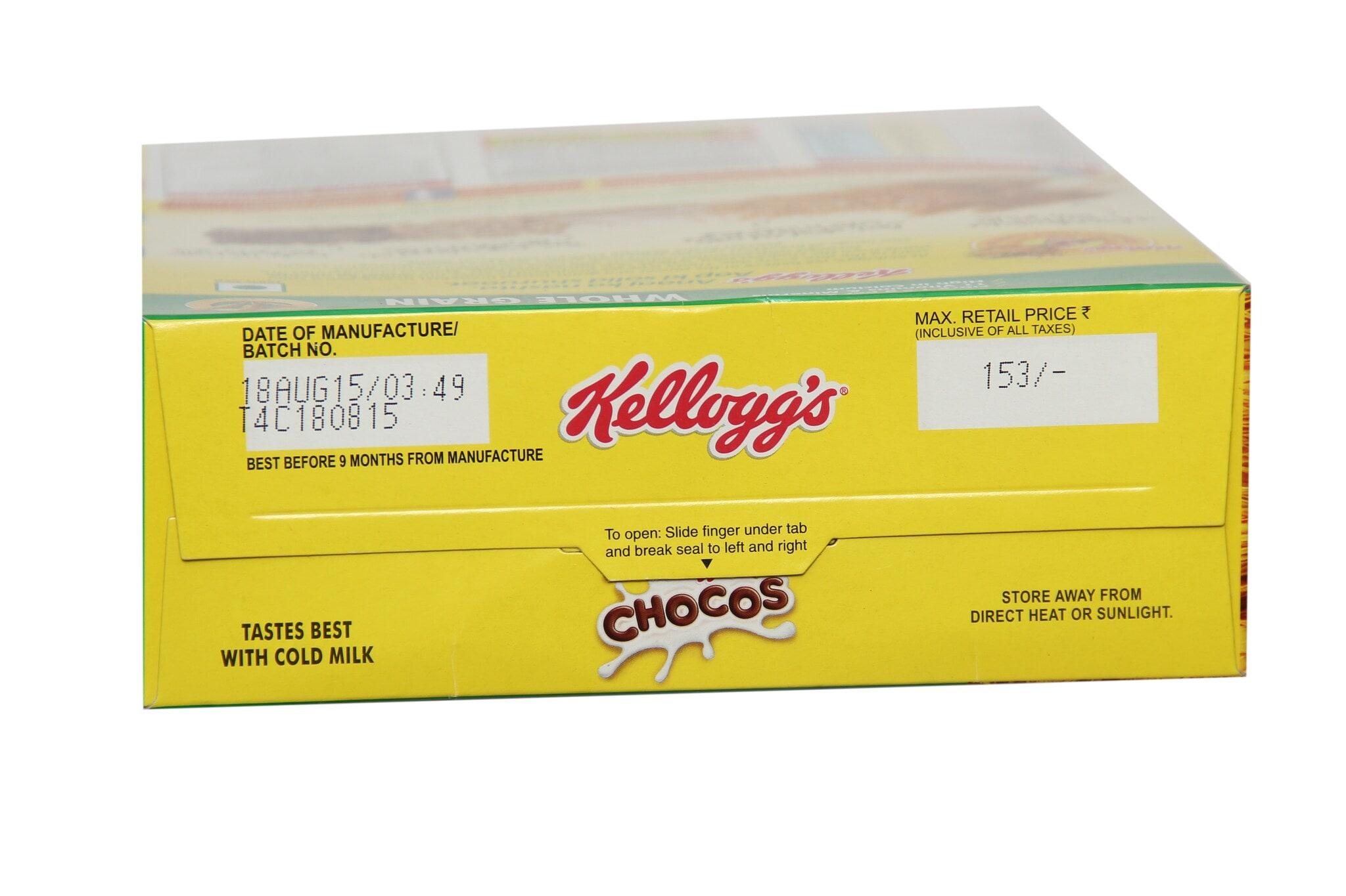 Kellogg's Chocos Whole Grain 375 Gm