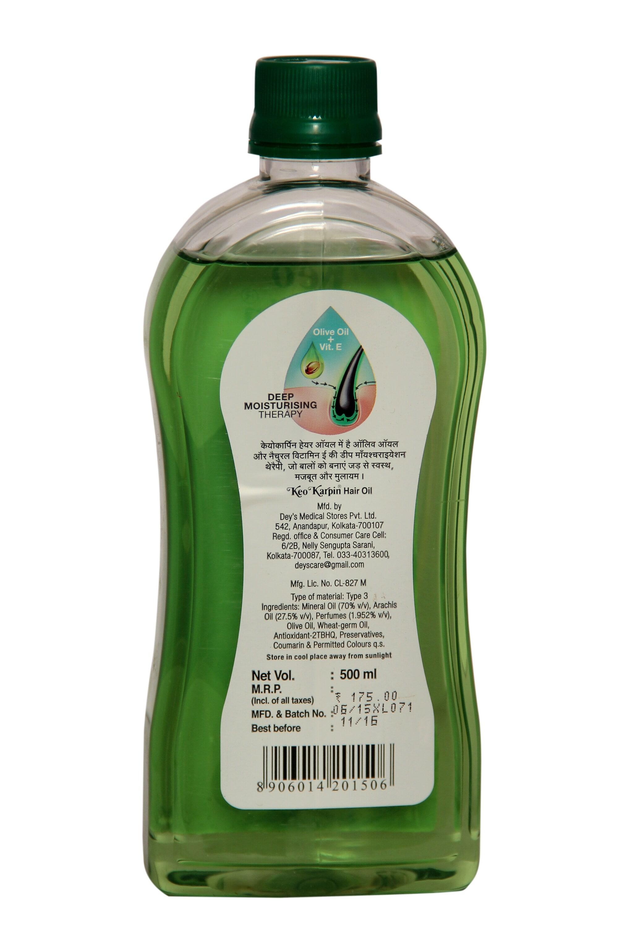 Keo Karping Hair Oil 500 Ml
