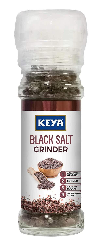 Keya Black Salt Grinder 100 Gm