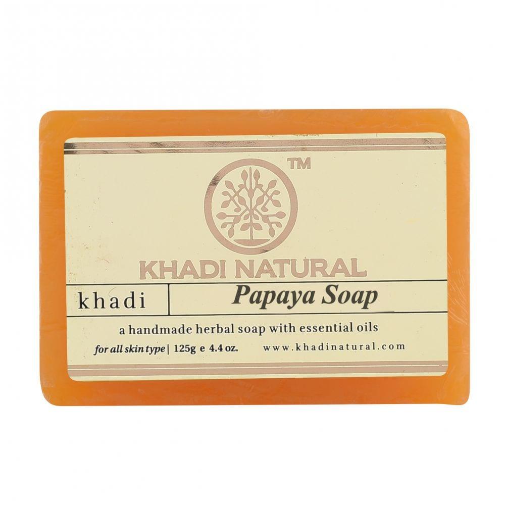 Khadi Natural Herbal Papaya Soap