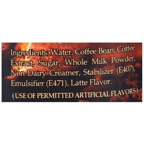 Kings Coffee Premium Cold Coffee Latte Super Smooth 280 Ml