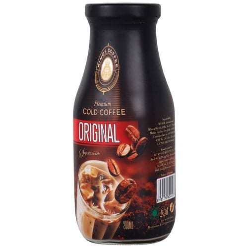 Kings Coffee Premium Cold Coffee Original Super Smooth 280 Ml
