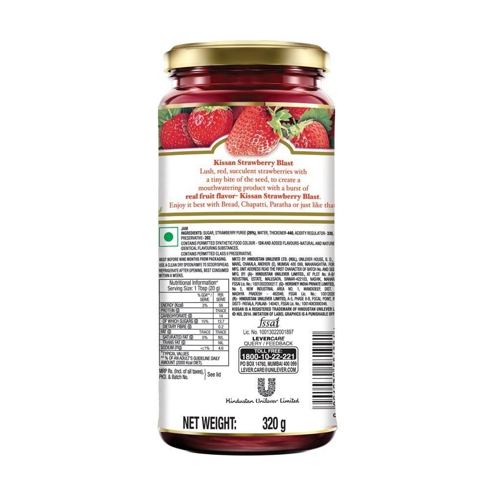 Kissan Strawberry Blast Jam
