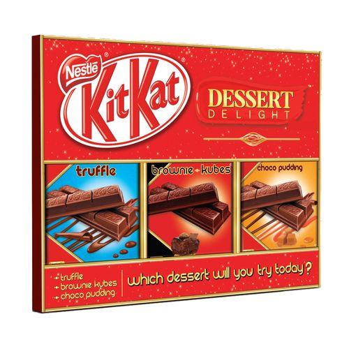 Kitkat Dessert Delight Triple Chocolate (Pack Of 3) 50 Gm