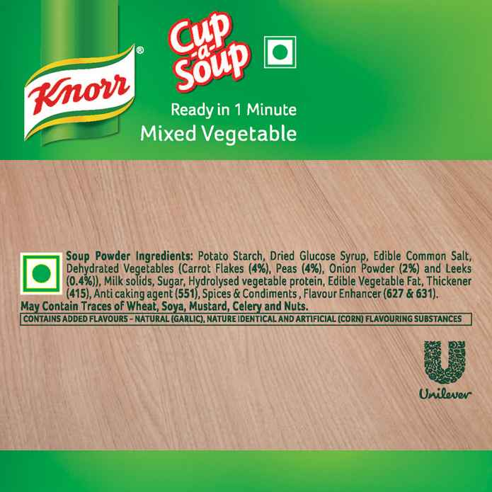 Knorr Mixed Vegetable Cup-A-Soup 11 Gm