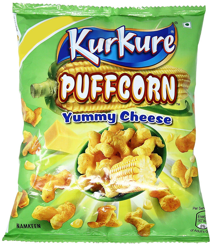 Kurkure Yummy Cheese Puffcorn 30 Gm