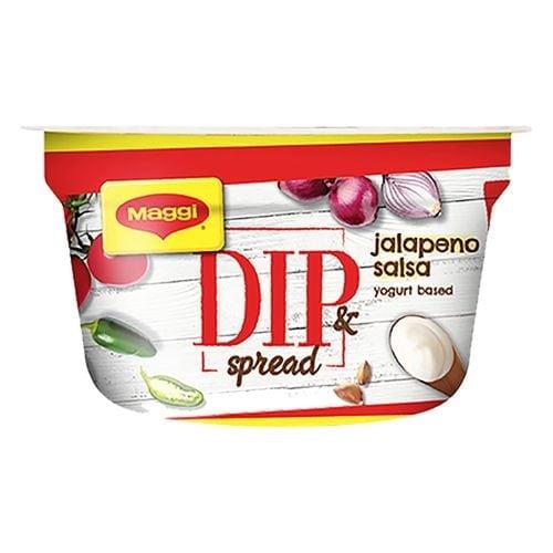 Maggi Low Fat Jalapeno Salsa Dip & Spread 150 Gm