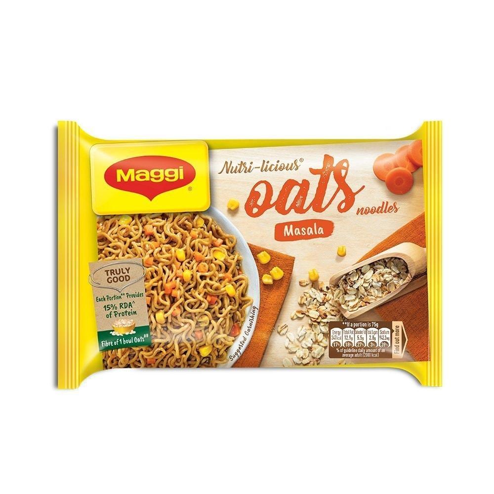 Maggi Nutri-licious Masala Oats Noodles 75 Gm