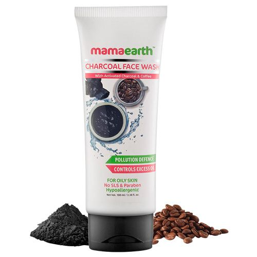 Mamaearth Charcoal Face Wash 100 Ml