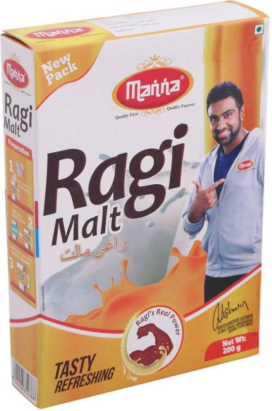 Manna Ragi Malt 200 Gm