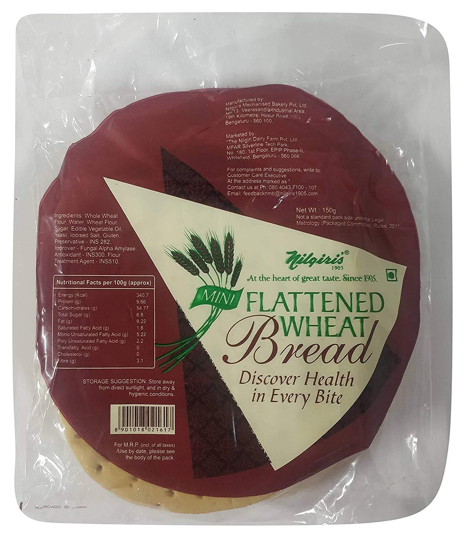 Nilgiri's Mini Flattened Wheat Bread