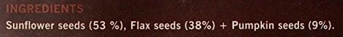 Nourish Organics Ground Omega Seed Mix